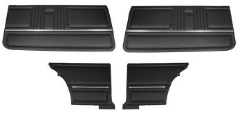 67 Coupe Door Panel Kit PED OE
