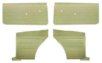 68 Coupe Door Panel Kit BASIC