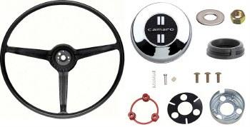 1967 Camaro Standard Steering Wheel Kit  With Camaro Horn Cap