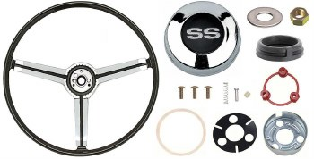 1967 Camaro Deluxe Steering Wheel Kit With SS Horn Cap