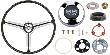 1967 Camaro Deluxe Steering Wheel Kit With SS350 Horn Cap