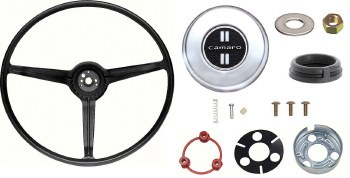 1968 Camaro Standard Steering Wheel Kit With Camaro Horn Cap