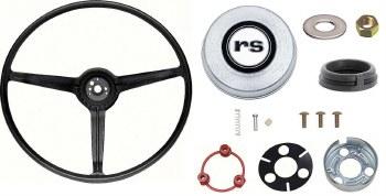 1968 Camaro Standard Steering Wheel Kit With RS Horn Cap