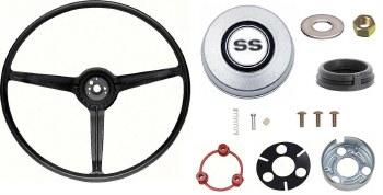 1968 Camaro Standard Steering Wheel Kit With SS Horn Cap