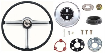 1968 Camaro Deluxe Steering Wheel Kit With Camaro Horn Cap