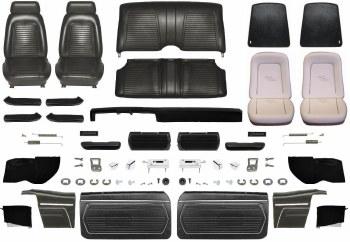 1969 Camaro Convertible Master Standard Interior Kit  Black