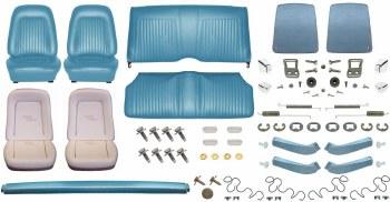1967 Camaro Coupe Monster Standard Interior Kit  Light Blue