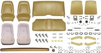 1967 Camaro Coupe Monster Standard Interior Kit  Gold