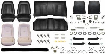 1967 Camaro Convertible Monster Standard Interior Kit  Black
