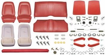 1967 Camaro Convertible Monster Standard Interior Kit  Red