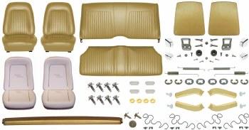 1967 Camaro Convertible Monster Standard Interior Kit  Gold