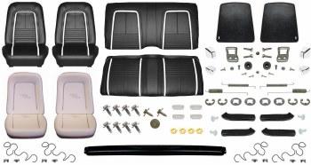 1967 Camaro Coupe Monster Deluxe Interior Kit  Black