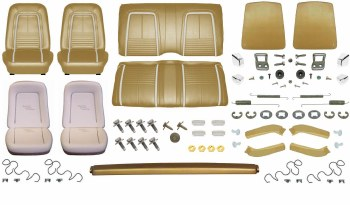 1967 Camaro Coupe Monster Deluxe Interior Kit  Gold