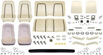 1967 Camaro Coupe Monster Deluxe Interior Kit  Parchment