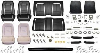 1967 Camaro Convertible Monster Deluxe Interior Kit  Black