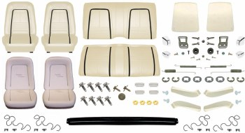 1967 Camaro Convertible Monster Deluxe Interior Kit  Parchment