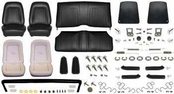 1968 Camaro Coupe Monster Standard Interior Kit  Black
