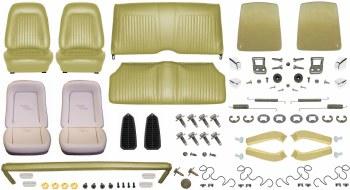 1968 Camaro Coupe Monster Standard Interior Kit  Ivy Gold