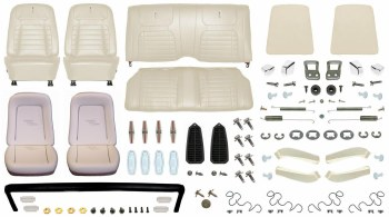 1968 Camaro Coupe Monster Deluxe Interior Kit  Pearl Parchment