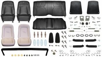 1968 Camaro Convertible Monster Deluxe Interior Kit  Black