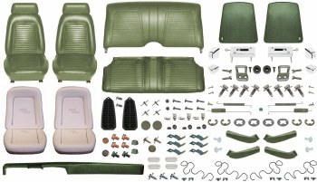 1969 Camaro Coupe Monster Standard Interior Kit  Dark Green