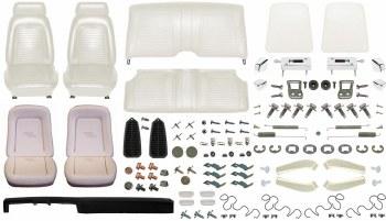 1969 Camaro Convertible Monster Standard Interior Kit  White