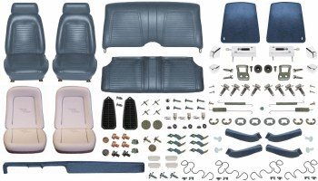 1969 Camaro Convertible Monster Standard Interior Kit  Dark Blue
