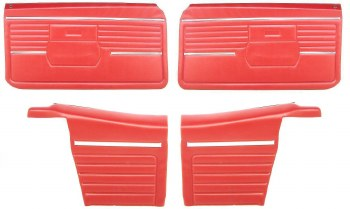 68 Conv Door Panel Kit PED OE