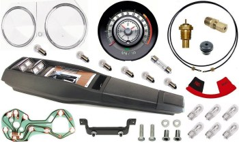 Tach/Console Gauge Kit 1968