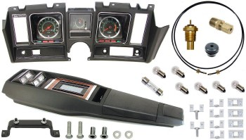 69 Camaro Tach & Console w/Gauges Conversion Kit w/Turbo 120 MPH 5.5/7K Tach