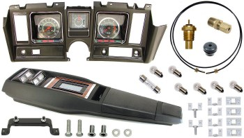 69 Camaro Tach & Console w/Gauges Conversion Kit w/Turbo  120 MPH 6/8K Tach