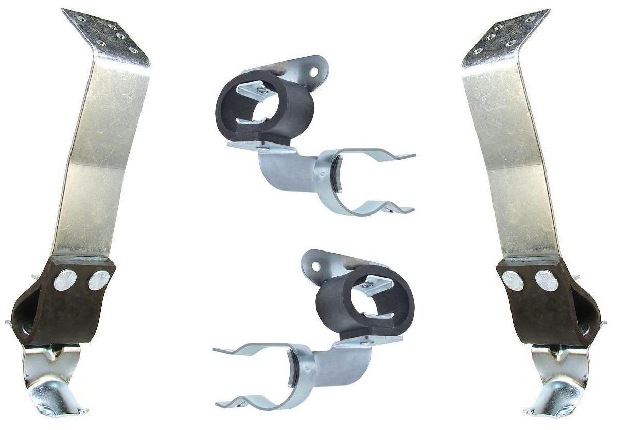 All Dual Exhaust Cars 1969 Camaro /& Firebird Tail Pipe Hanger Plate  Fits