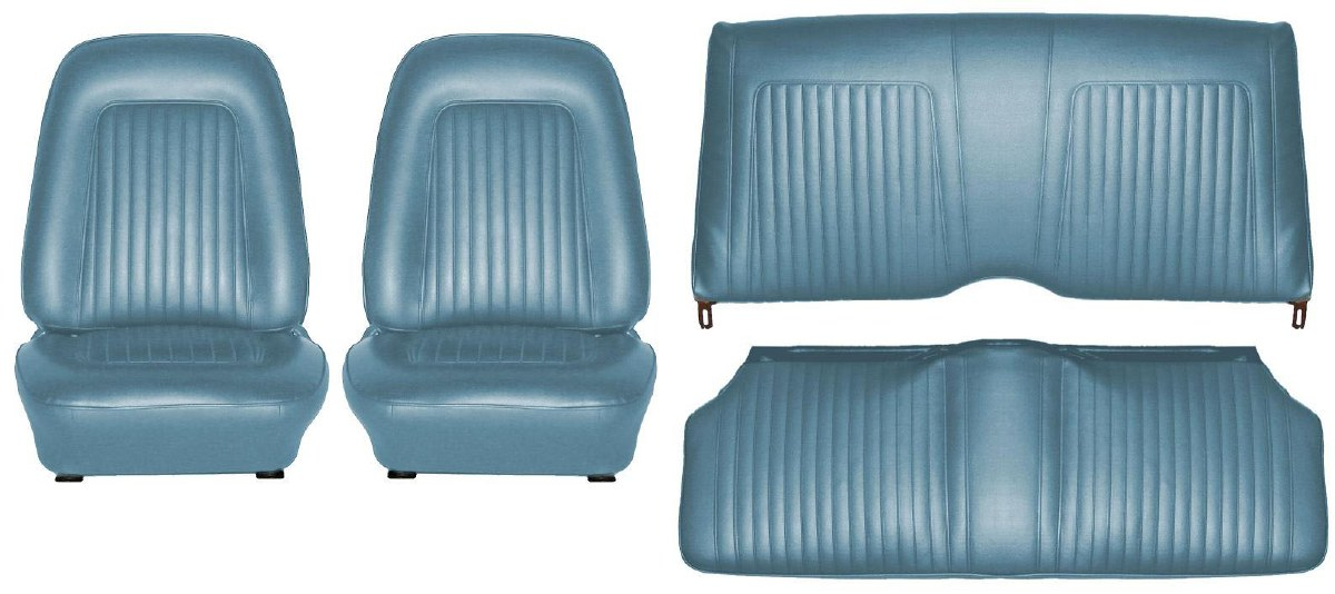 Tremendous 1968 Camaro Coupe Standard Interior Seat Cover Kit Oe Onthecornerstone Fun Painted Chair Ideas Images Onthecornerstoneorg