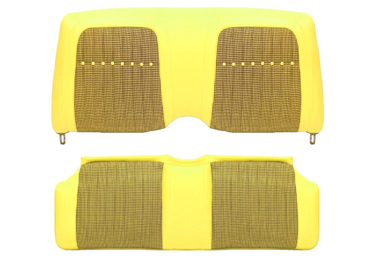 67 68 69 Camaro /& Firebird Deluxe Interior Seat Cover Button  Black  Ea