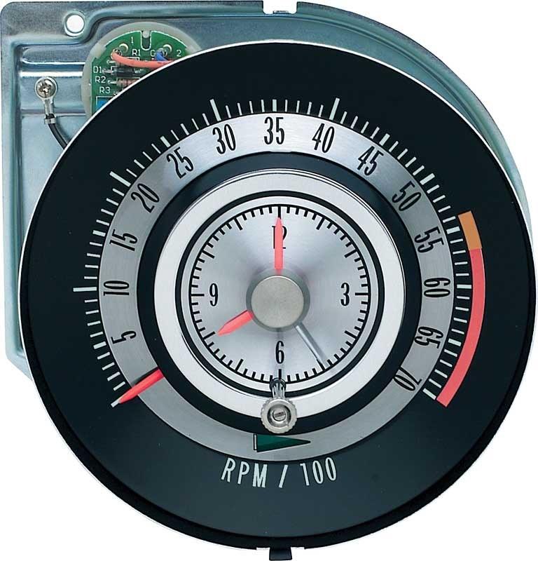tic toc tach wiring diagram 1968 camaro tachometer 5500 7000 redline quartz clock  tic toc tac  1968 camaro tachometer 5500 7000