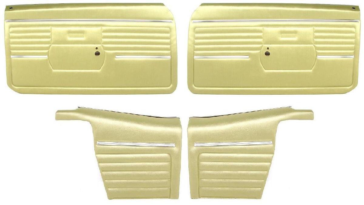 In Stock 1968 Camaro PUI Platinum Front Interior Door Panels Assembled