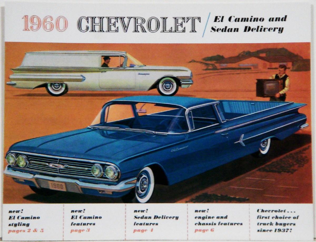 1964 El Camino Full Color Sales Brochure