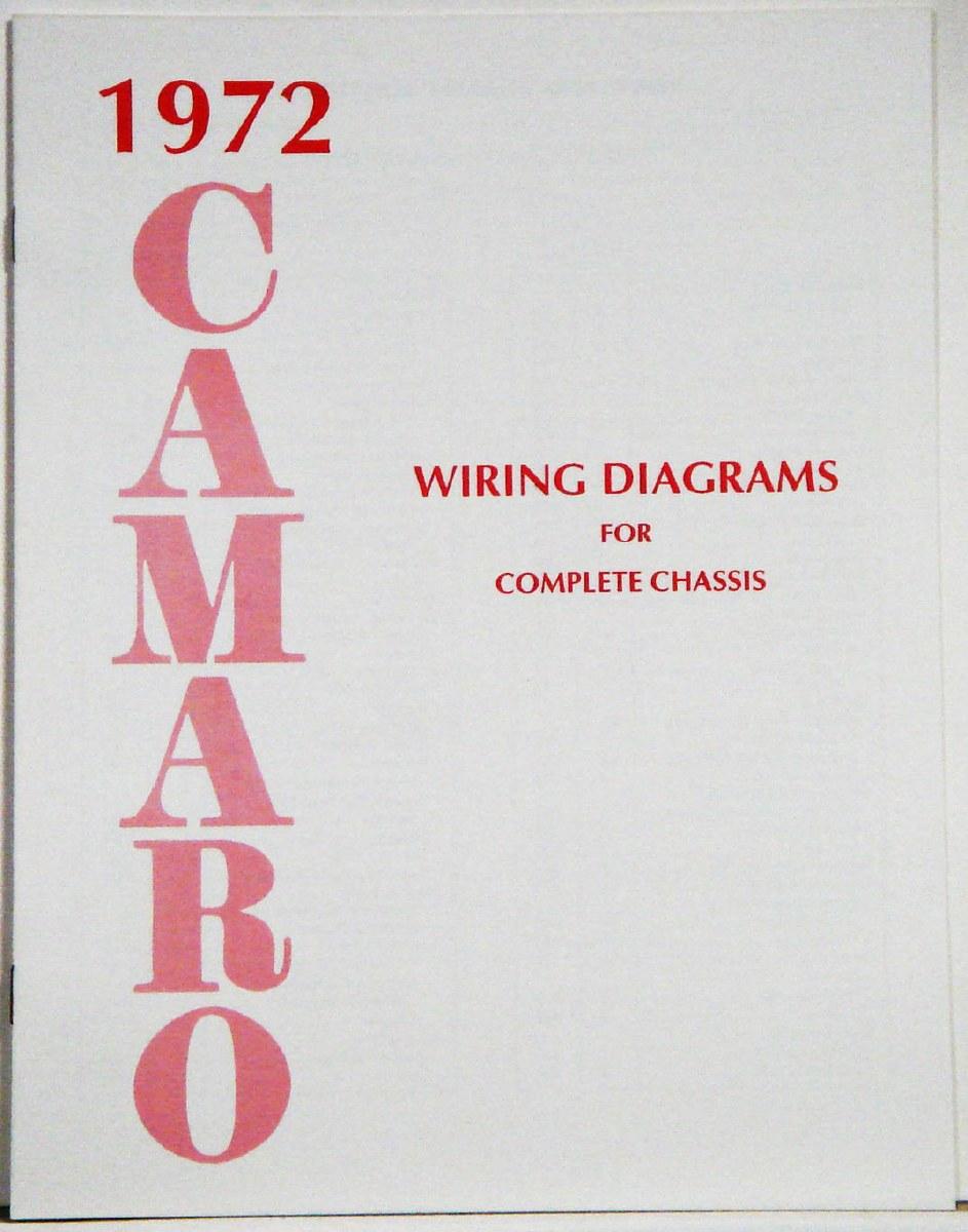 1972 Camaro Factory Wiring Diagram Manual 1967 1968 1969 Camaro Parts Nos Rare Reproduction Camaro Parts For Your Restoration
