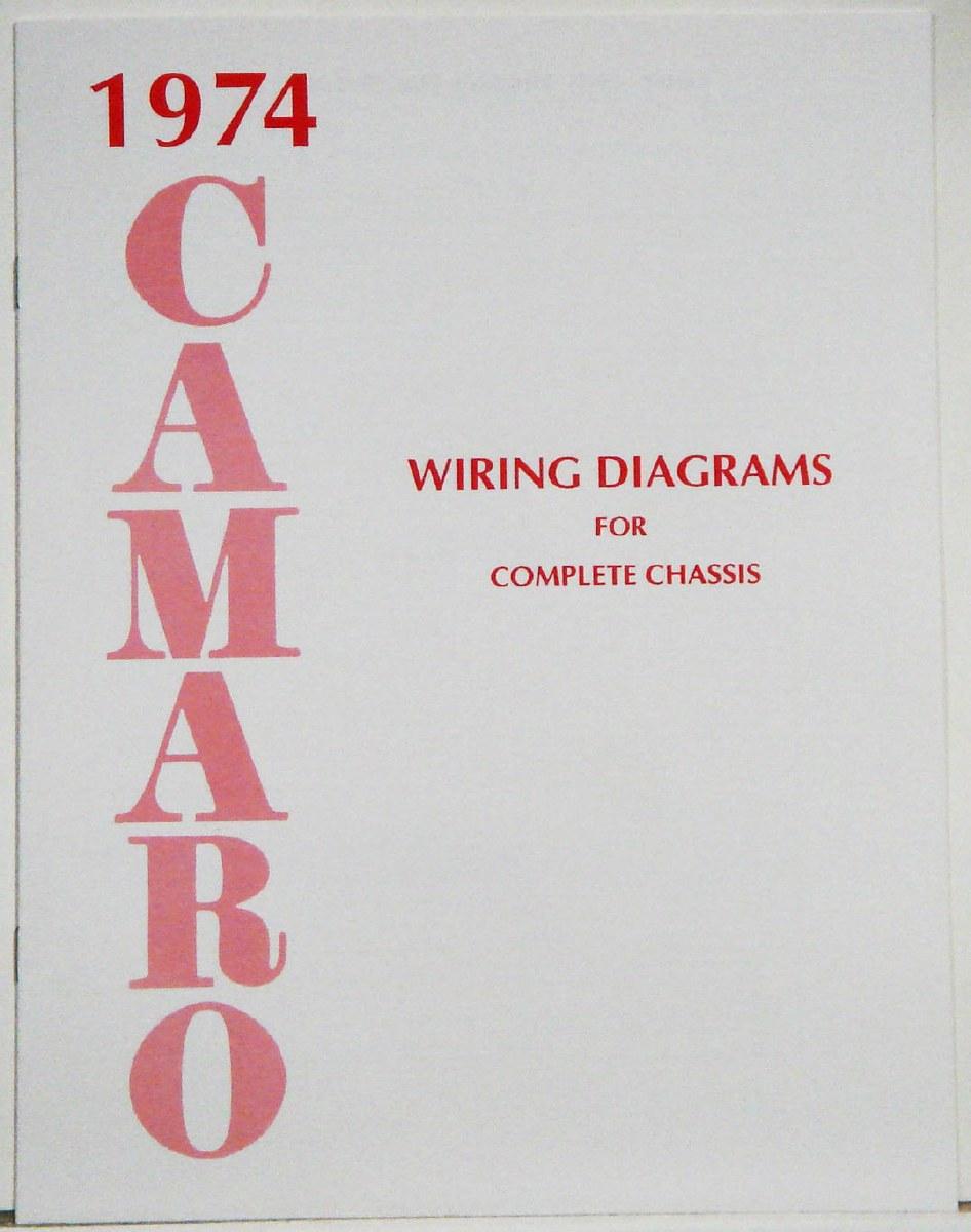 1974 Camaro Factory Wiring Diagram Manual - 1967, 1968, 1969 Camaro Parts -  NOS, Rare, Reproduction Camaro Parts for your RestorationHeartbeat City Camaro