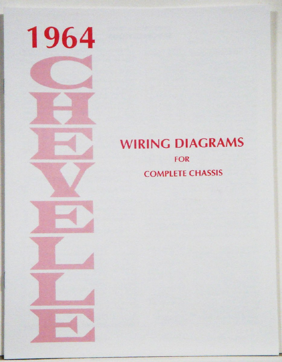 [DIAGRAM_38IS]  1964 Chevelle Factory Wiring Diagram Manual - 1967, 1968, 1969 Camaro Parts  - NOS, Rare, Reproduction Camaro Parts for your Restoration | 1964 Chevelle Wiring Diagram |  | Heartbeat City Camaro