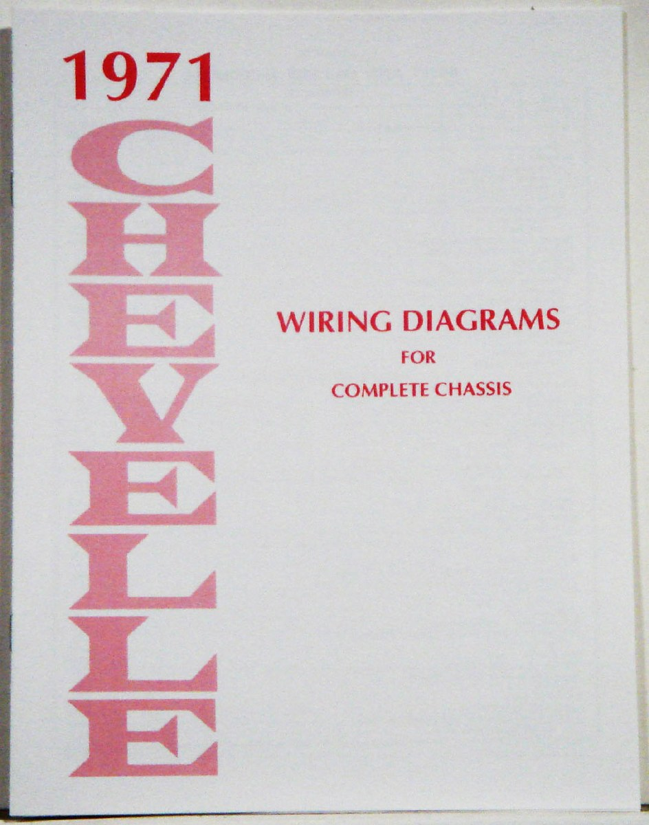 1971 chevelle wiring harness 1971 chevelle factory wiring diagram manual 1967  1968  1969  1971 chevelle factory wiring diagram