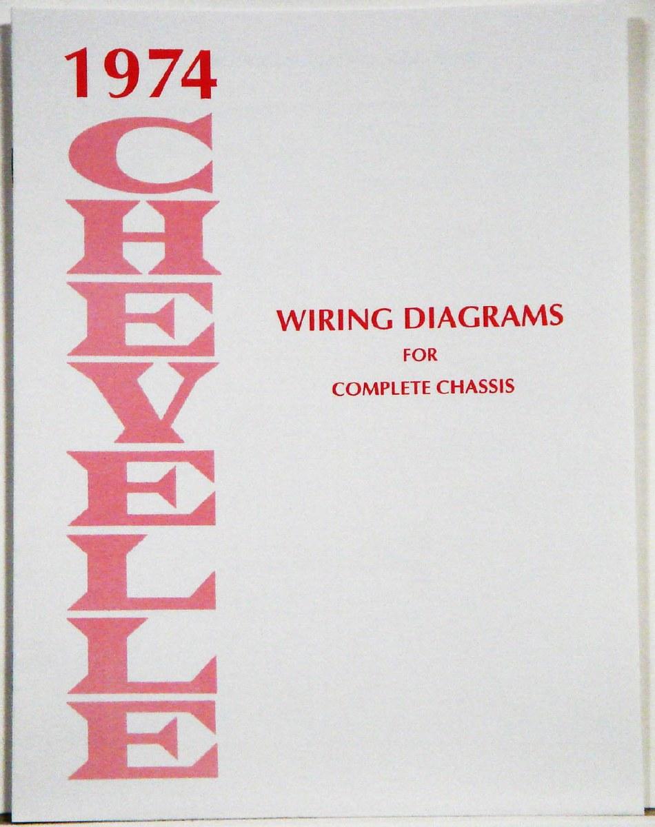 1974 chevelle factory wiring diagram manual - 1967, 1968, 1969 ...  heartbeat city camaro