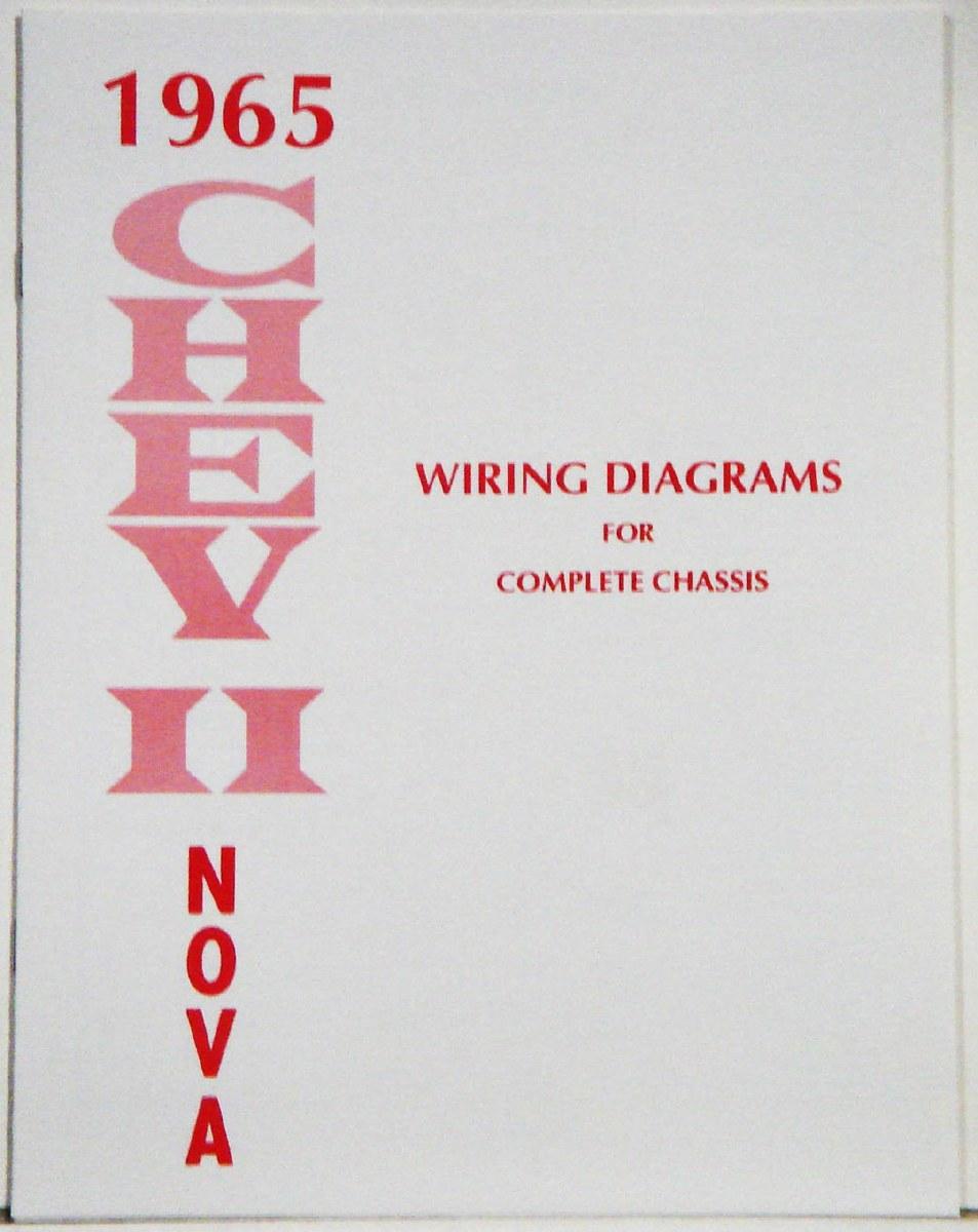 1965 nova wiring schematic 1965 chevy ii nova factory wiring diagram manual 1967  1968  1965 chevy ii nova factory wiring