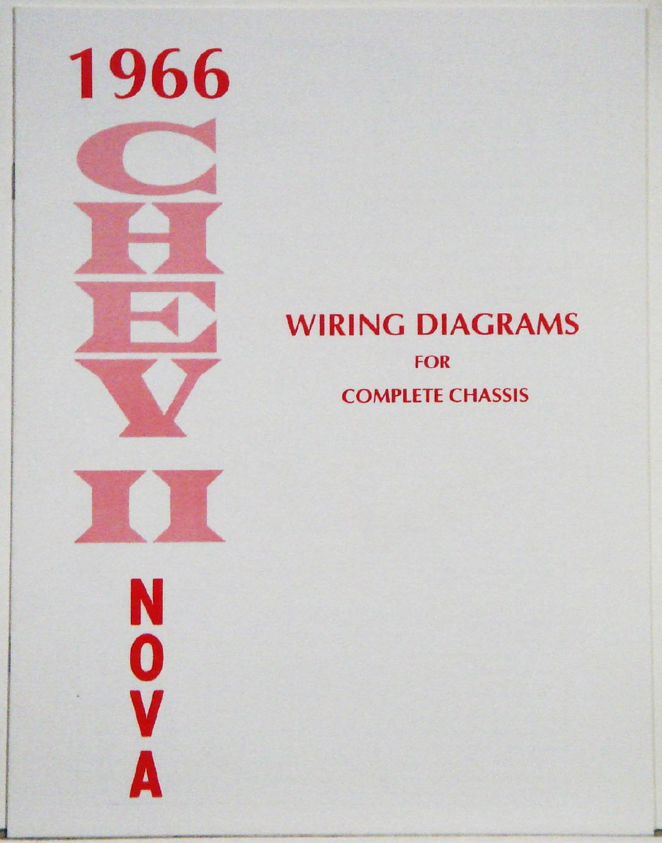 Other Car Manuals 40 NOVA/CHEVY II WIRING DIAGRAM MANUAL homeclass