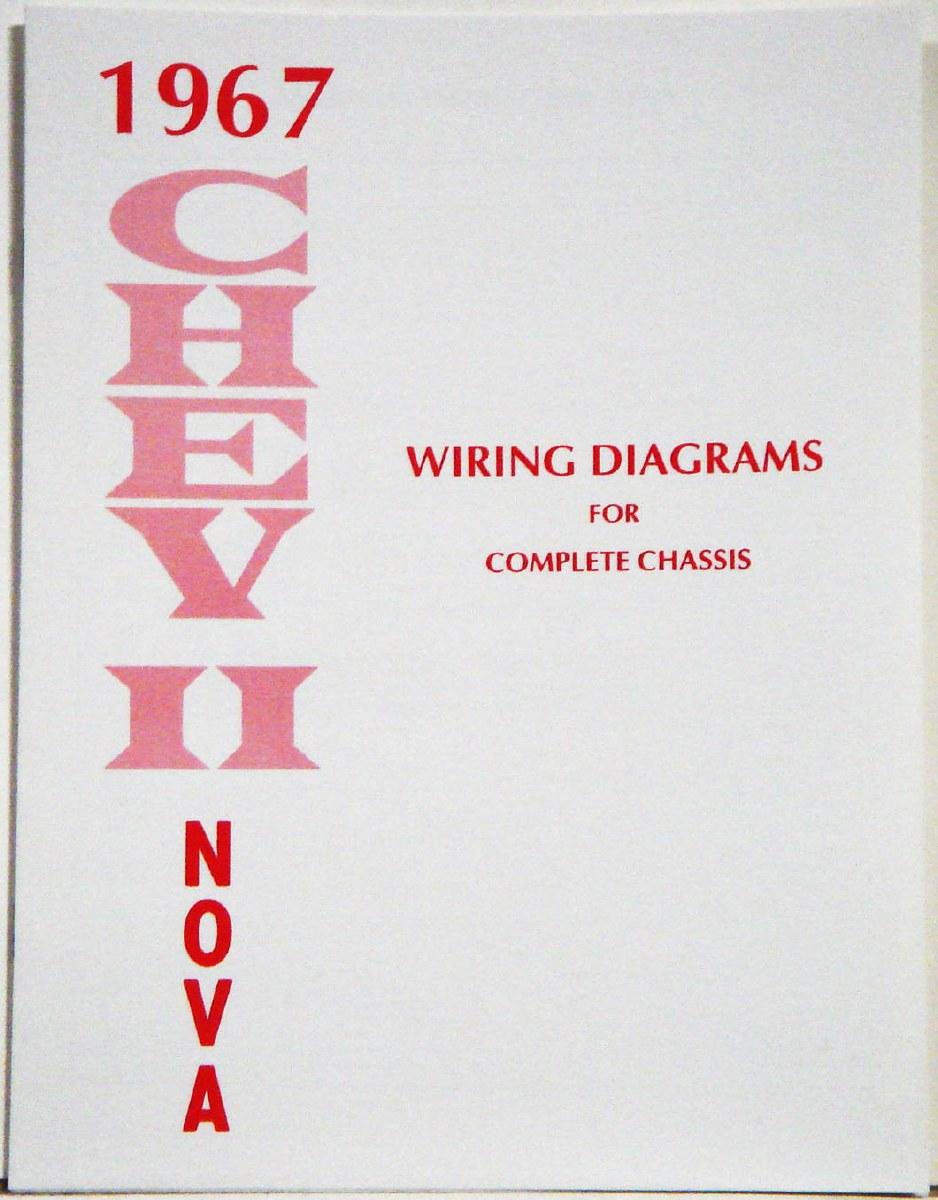 1967 chevy ii wiring diagram 1967 chevy ii nova factory wiring diagram manual 1967  1968  1967 chevy ii nova factory wiring