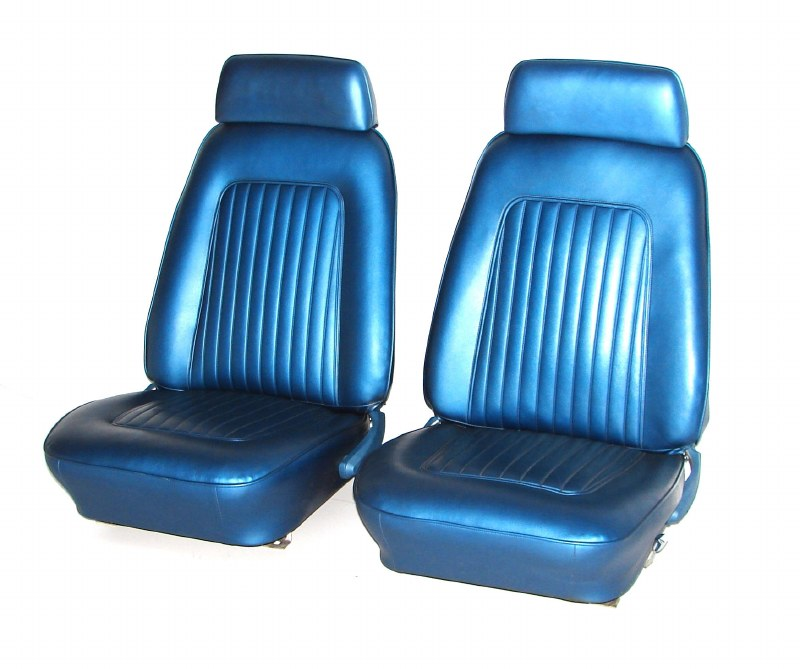 Enjoyable 1968 Camaro Bucket Seats With Factory Headrests New Covers Machost Co Dining Chair Design Ideas Machostcouk