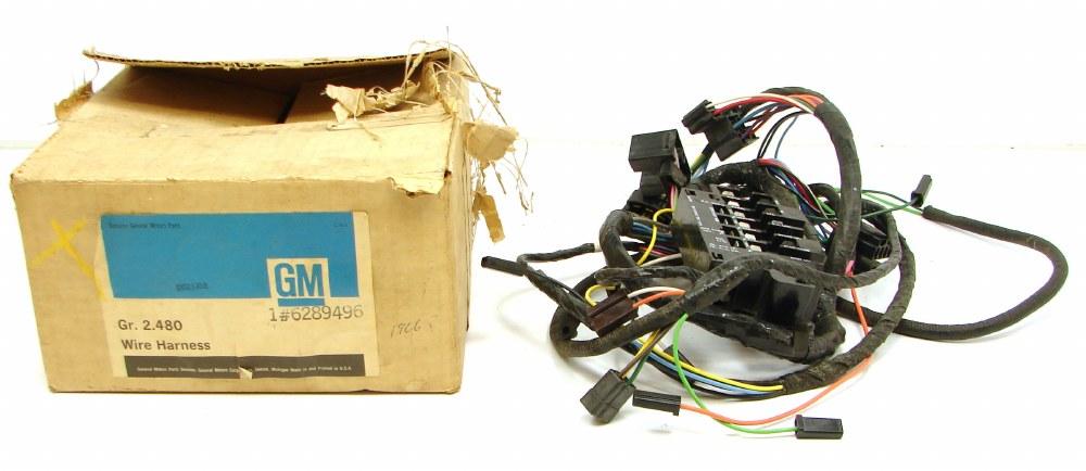 1972 nova wire harness 1966 chevy ii nova nos underdash wiring harness assembly gm part  1966 chevy ii nova nos underdash wiring