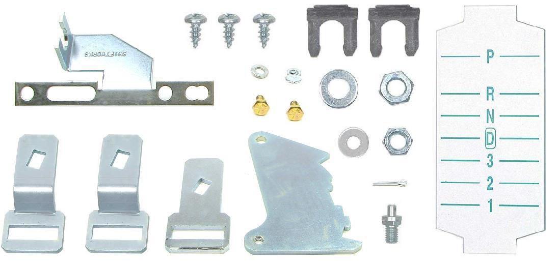 67 Chevrolet Camaro PG to TH350//400 Firebird Shifter Conversion Kit w//o Lens
