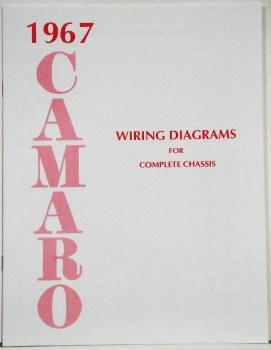 1967 Camaro Factory Wiring Diagram Manual OE Quality! USA! - 1967, 1968,  1969 Camaro Parts - NOS, Rare, Reproduction Camaro Parts for your  RestorationHeartbeat City
