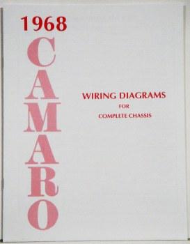 1968 Camaro Factory Wiring Diagram Manual Oe Quality Usa 1967 1968 1969 Camaro Parts Nos Rare Reproduction Camaro Parts For Your Restoration